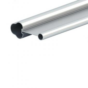 Aluminum profile for hollow rod