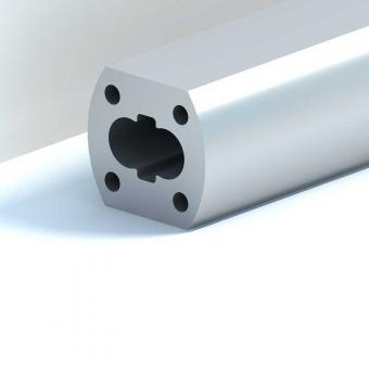 Aluminum profile for gear pump