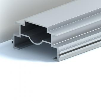 Aluminum profile extrusion for aluminium lift elevator