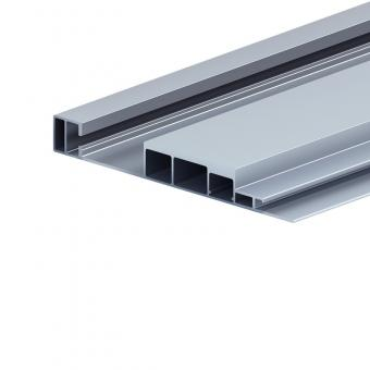 Aluminum profile for high speed railways